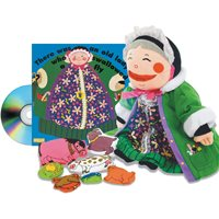 Old Lady Who Swallowed A Fly Set