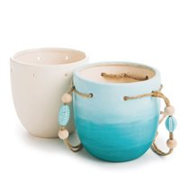Colour-Me Ceramic Bisque Planters