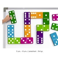 Giant Magnetic Dominoes