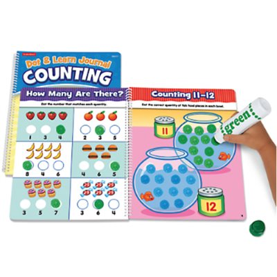 Dot & Learn Counting Journal