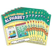 Dot & Learn Alphabet Journal- Set of 10