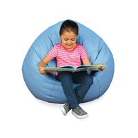 Calming Colours Big Beanbag Seat-Sky Blue