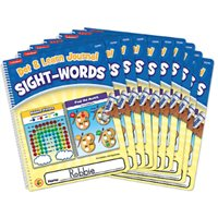 Dot & Learn Sight & Words Journal-Set of 10