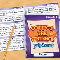 Correct Sentence Journal-Gr.5-6-Ea