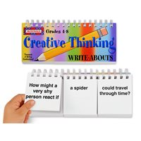 Creative Thinking Flip Book Gr. 4-8