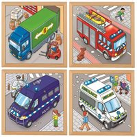 Nienhuis - Puzzles In 2 Layers - Complete Set Of 4
