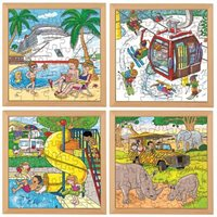 Nienhuis - Holiday Puzzles - Complete Set of 4