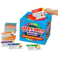 Grab & Write Social-Emotional Prompts Gr K-2