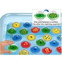 Float & Find Number Bubbles