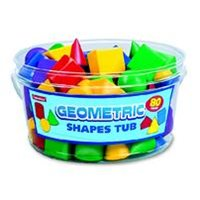 Geometric Shapes Tub
