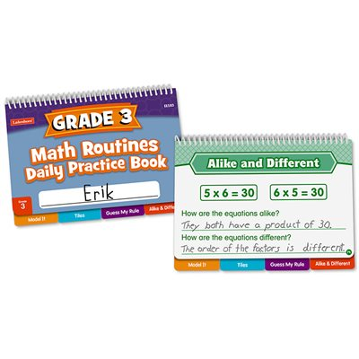 Daily Math Routines Book - Gr 3