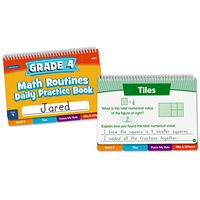Daily Math Routines Book - Gr 4