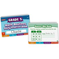 Daily Math Routines Book - Gr 5