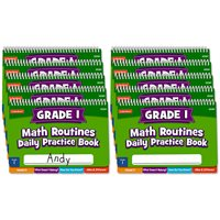 Daily Math Routines Book - Gr 1 - Set of 10