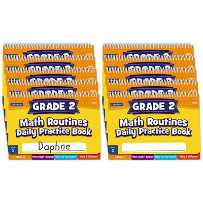 Daily Math Routines Book - Gr 2 - Set of 10