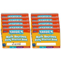 Daily Math Routine2 Book - Gr 4 - Set of 10