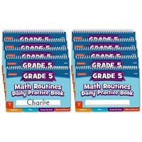 Daily Math Routines Book - Gr 5 - Set of 10