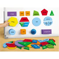 Magnetic Geometric Shapes