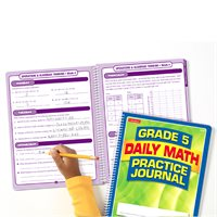 Daily Math Practice Journal - Gr. 5-Each