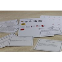 D- Number Line Extensions Level 9-12  Card Stock