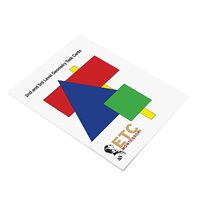 2nd & 3rd Level Geometry Task Cards (Plastic & Cut)