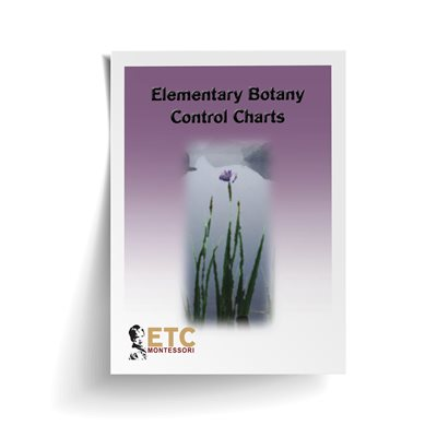 D- Elementary Botany Control Charts Card Stock
