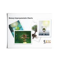 D- Large Botany Impressionistic Charts Card Stock