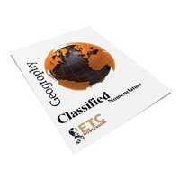 Geography Classified Nomenclature (Plastic & Cut)