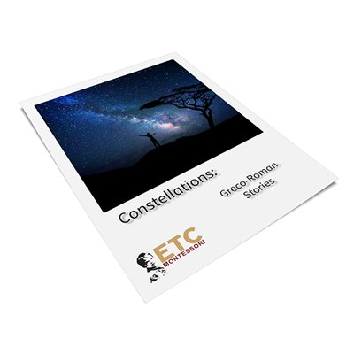 Constellation Story Cards (Plastic& Cut)