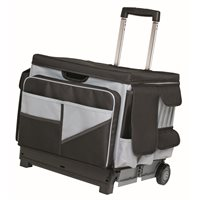 Universal Rolling Cart and Organizer Bag-Black