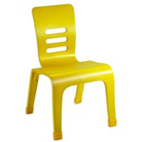 "14"" Bentwood Chair-Yellow"