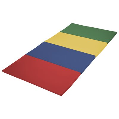 SoftZone® 4'X8' Runway Tumbling Mat - Primary Colours