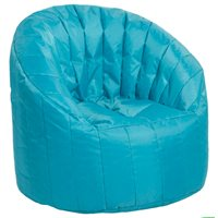 Cali Seashell Bean Bag - French Blue