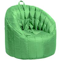 Cali Seashell Bean Bag - Grassy Green