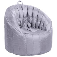 Cali Seashell Bean Bag - Grey