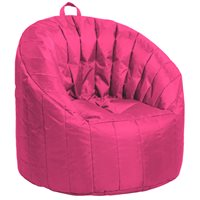 Cali Seashell Bean Bag - Raspberry