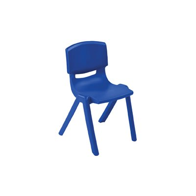 "D- 10"" Resin Chair - Blue"