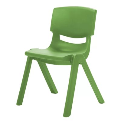 "14"" Resin Chair - Green"