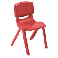 "10"" Resin Chair - Red"
