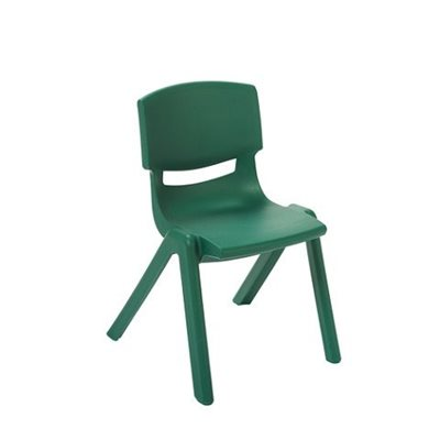 "D- 16"" Resin Chair - Green"