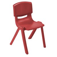 "16"" Resin Chair - Red"