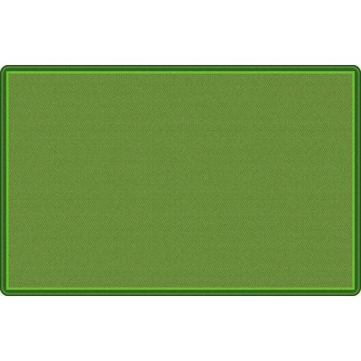 "5'10"" x 8'4"" All Over Weave Rug - Green"