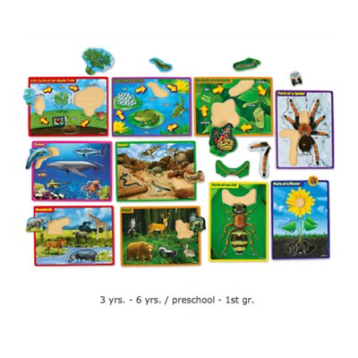 Life Science Picture Puzzles