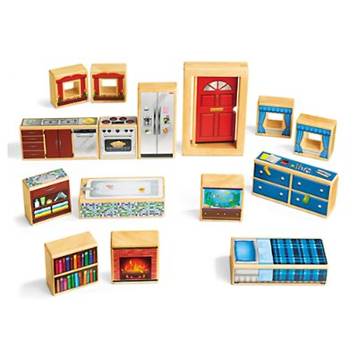 Block Play Home Builder