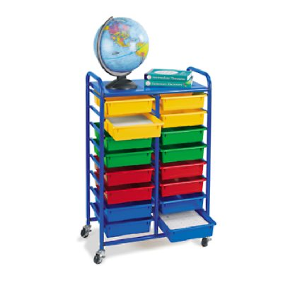 16-Tray Mobile Organizer