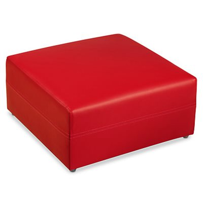 Comfy Ottoman - Red