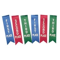 Award Ribbons - 1st, 2nd, 3rd - Pack of 36