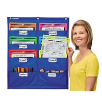Write & Wipe Pockets Storage Chart