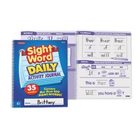 Sight-Word Daily Activity Journal