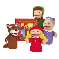Little Red Riding Hood-Hand Puppet Set